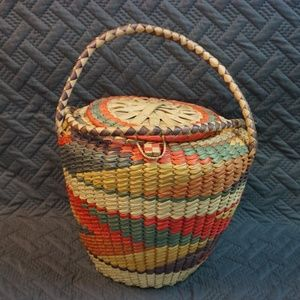 Antique African Basket
